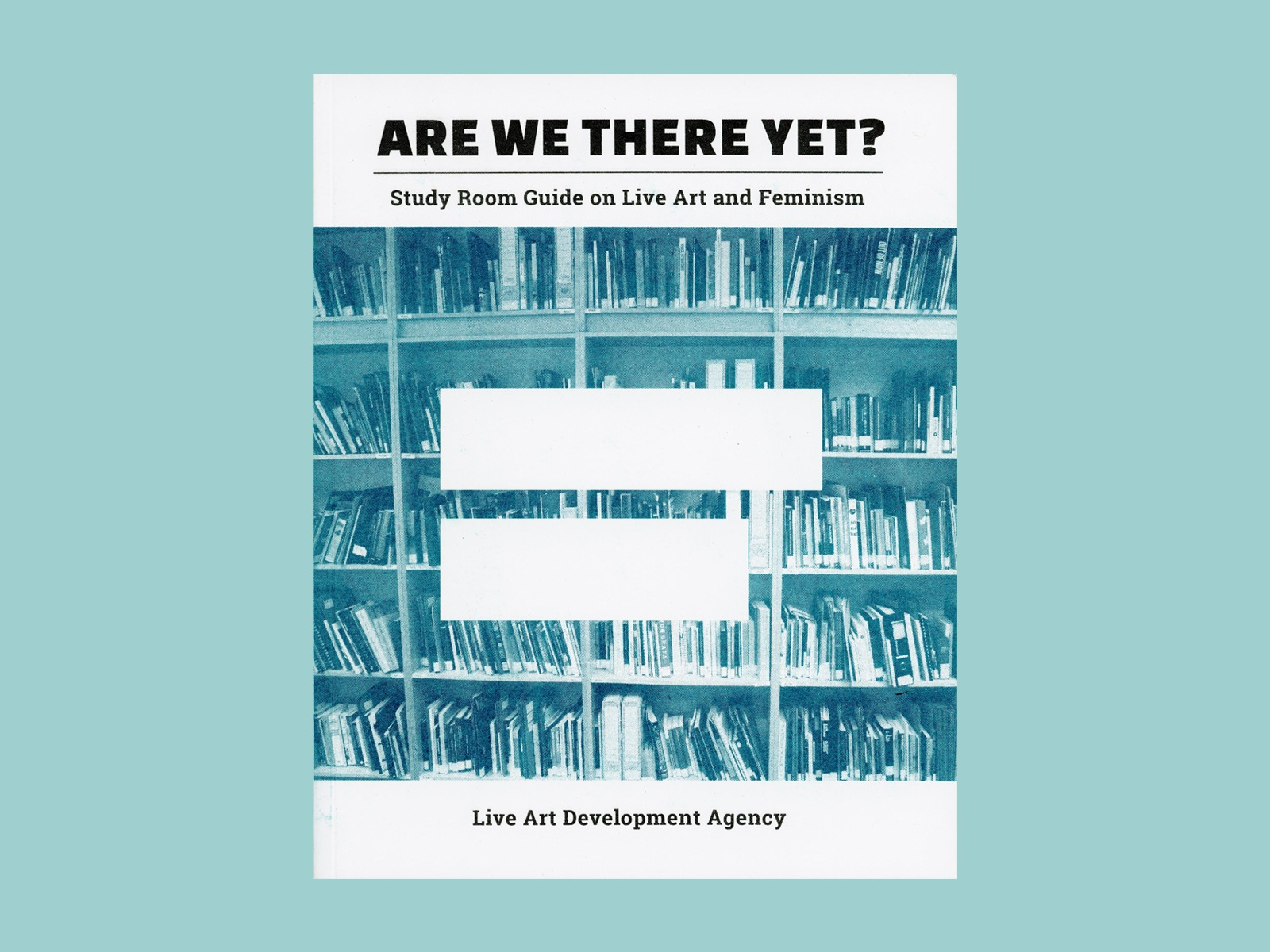 Cover of the Are We There Yet Study Guide on a blue blackground