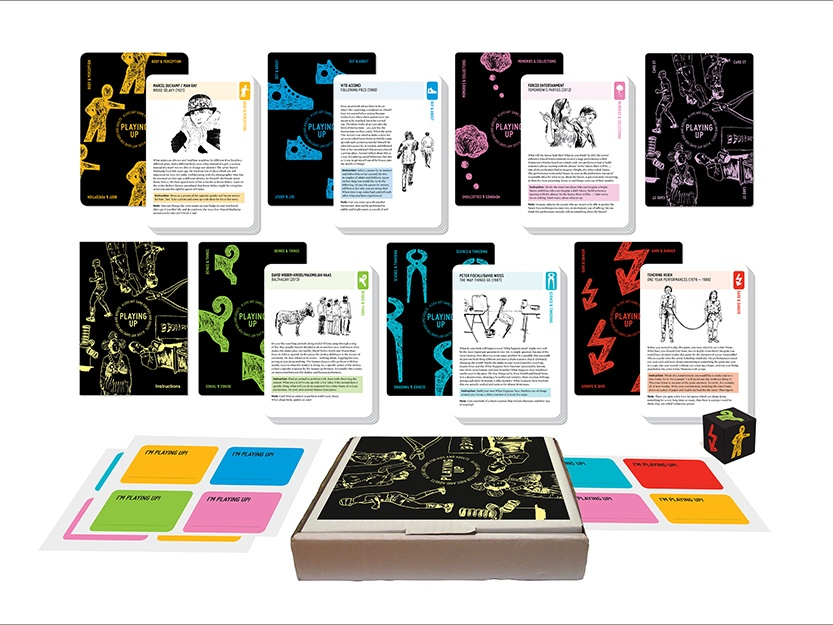 PLAYING UP: A Live Art Game for Kids and Adults - LADA Live Art Development Agency