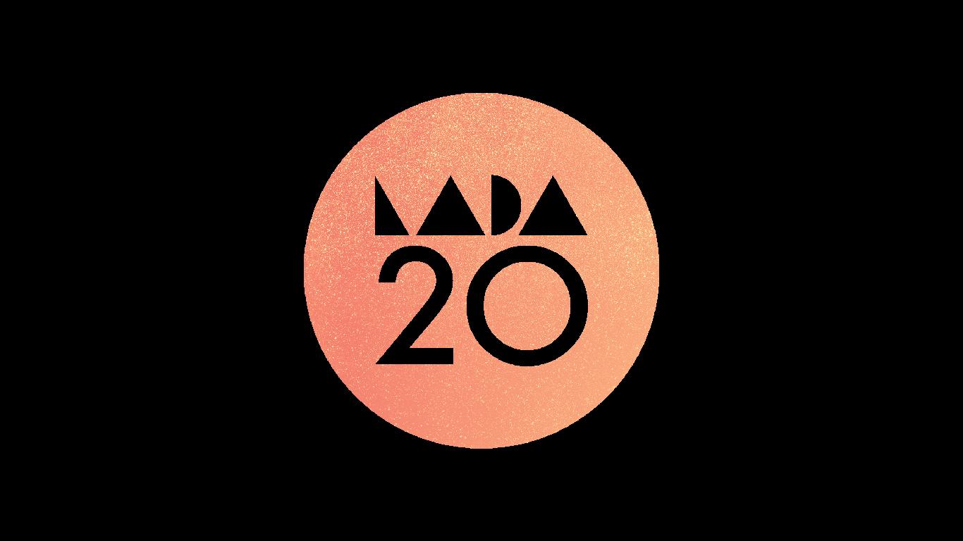 LADA logo on a glitzy orange background.