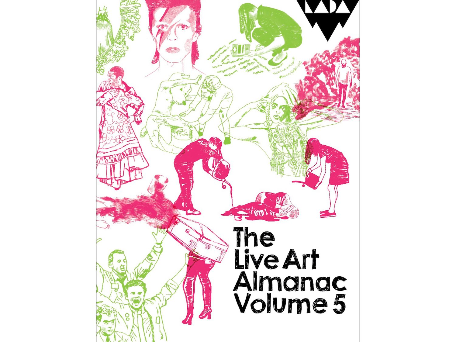 The cover of the Live Art Almanac Volume 5