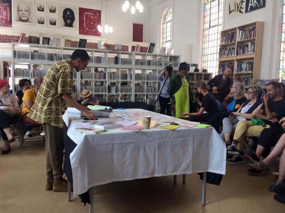 Raju Rage, Curating Borderless Spaces, performingbordersLIVE19 in partnership with LADA