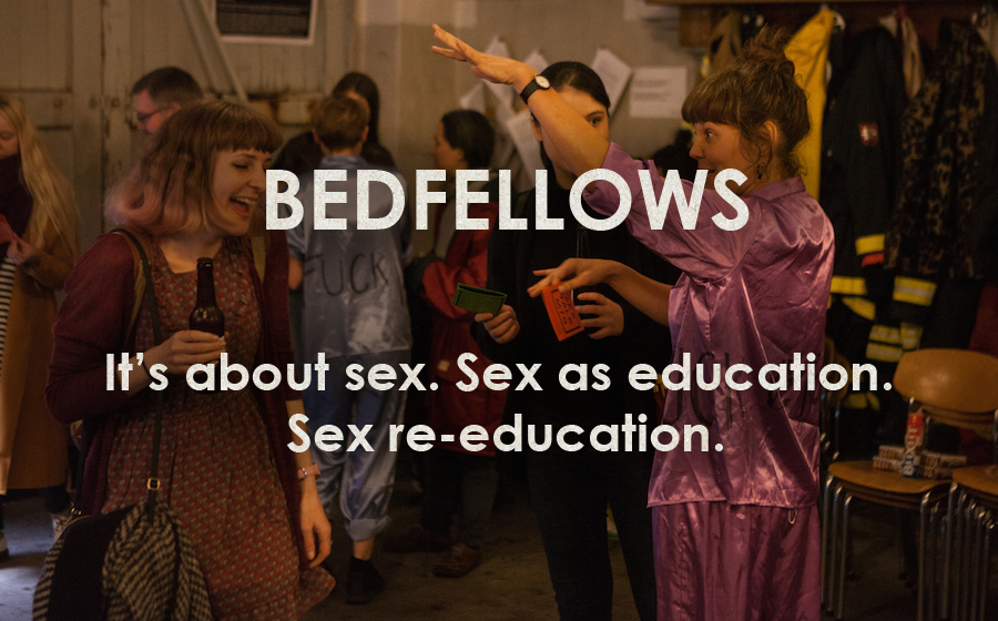 Bedfellows: SEX TALK MTG (Sunrise to Sunset) - It's about sex. Sex as education. Sex re-education.
