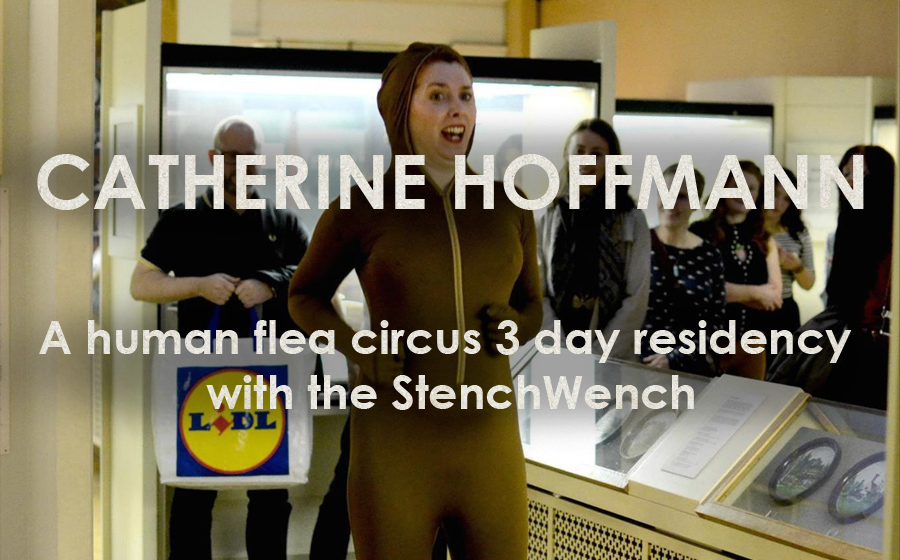 Catherine Hoffmann: Maybe Jumping Is Enough - A human flea circus 3 day residency with the StenchWench
