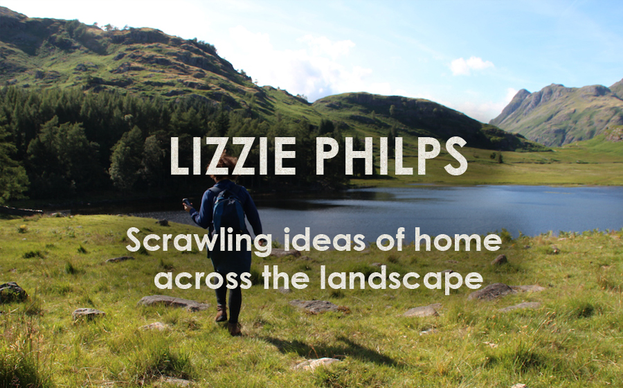 Lizzie Philps: GPS Embroidery - Scrawling ideas of home across the landscape