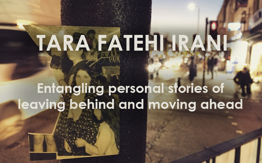 Tara Fatehi Irani: Her Eyes Under the Bridge - Entangling personal stories of leaving behind and moving ahead